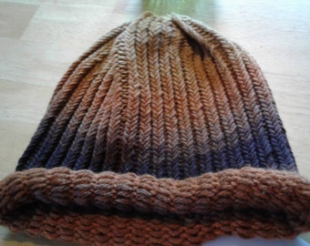 Adult Woodsy Knitted Hat