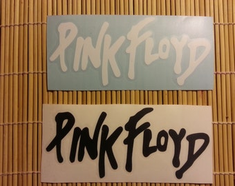 Pink Floyd sticker // 6 inch vinyl decal // choose White or Black