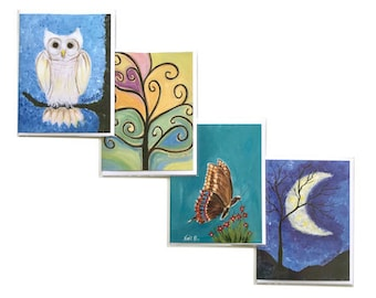 Assortment of Four Greeting Cards