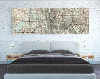 Minneapolis map | Etsy