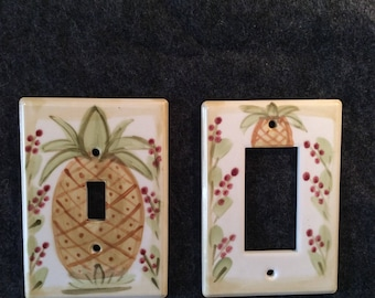 Pineapple Switch Plate Cover