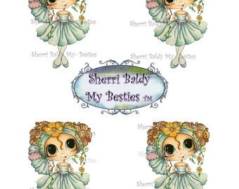 INSTANT DOWNLOAD Big Eye Big Head Dolls NEW Pinkie Bestie 3D Deco JT4wm Color Printable Sheet My Besties By Sherri Baldy