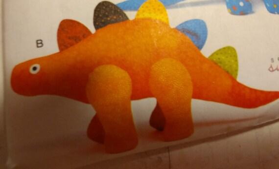 Stuffed Standing Long Dinosaur