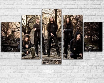 Korn 5pc Canvas Set