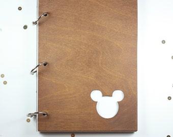Mouse jounal/ mini album/ autograph book
