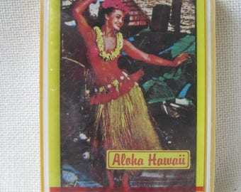 Vintage FACTORY SEALD Aloha Hawaii Playing Cards