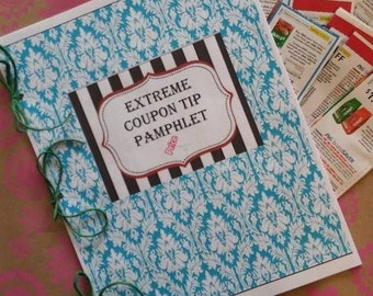 Coupon Tip Pamphlet Guide