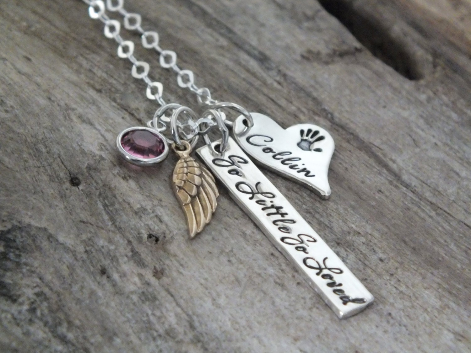 Miscarriage keepsake miscarriage necklace sterling silver miscarriage keepsake miscarriage necklace sterling silver miscarriage jewelry miscarriage gift miscarriage memorial baby loss gift aloadofball Images