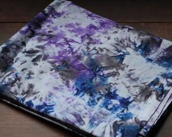 Purple & Blue Handmade Fair Trade Tye-Dye Batik 2 yards fabric