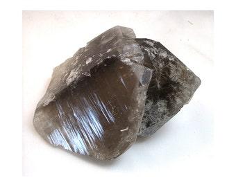 1 Lb. 7.4 Oz. Smoky Quartz Crystal Cluster - Brazil - ww917