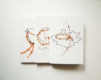Zine package: TRAVEL // poetry / prose / handmade zine / handwritten zine / journal excerpts / stories / memories