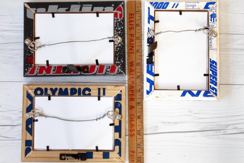 4 x 6 reutilizar el marco de madera de palo de Hockey; Regalo de ...