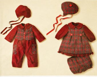 UNCUT, Simplicity 2347, Baby, Sewing Pattern, Babies' Romper, Dress, Panties and Hat,  Size XXSmall to Large, Up to 24lb, OLD2NEWMEMORIES