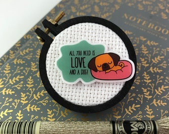 Love and a Dog Needleminder