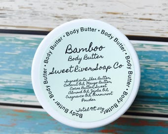 Fresh Bamboo Whipped Body Butter
