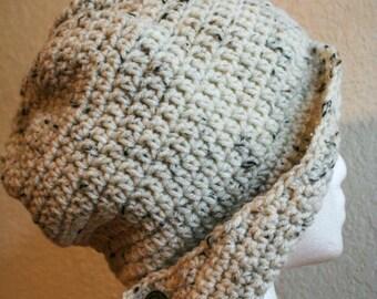 "Crochet Side Brim Flapper Asymmetrical Hat 20"" FREE SHIPPING"