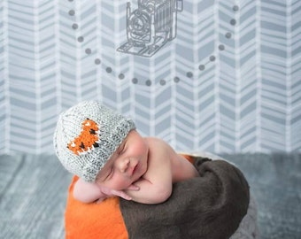 Newborn Fox Hat - available in newborn to toddler sizes
