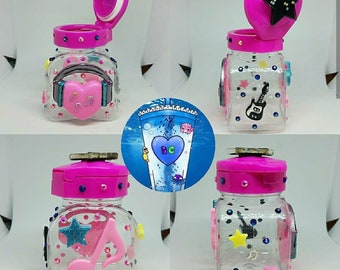 Pop star snack cup