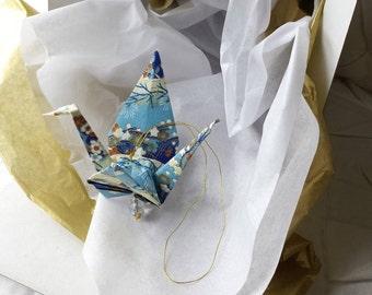 Exquisite Origami Paper Crane hanging decor - Peace Crane Gift - Origami crane - Thank you - Congratulations - Anniversary - Get well -#A2HG