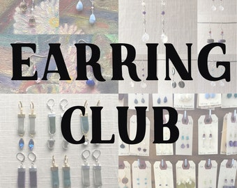 Earring Club [One Month Subscription, July]
