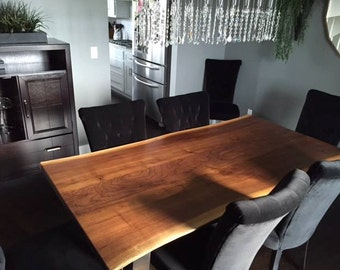 Live Edge Coffee Table Live Edge Conference Table Boardroom Table Live Edge Counters