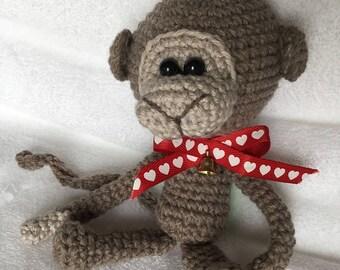 Crochet little pretty monkey