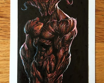 Red Demon - Original Illustration