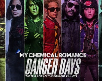 My Chemical Romance silk poster 2018 clean highest quality money back guarantee