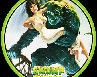 Swamp Thing Vintage Image T-shirt