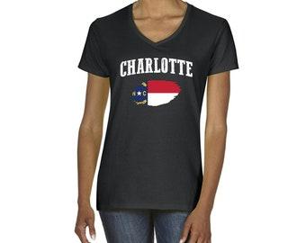 Charlotte north carolina neighborhoods screen print for T shirt printing in charlotte nc