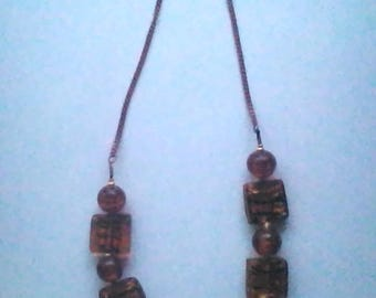 Necklace Caramel series Marie 9 n.