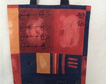 Carrier Tote Bag Multicolor  'AFRICA' Assorted
