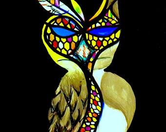 Owl's Raven