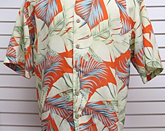 Mens  Hawaiian Tropical Retro Shirt Maui Maui  XL #542
