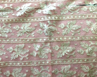 Handmade Lace, Victorian Lace, 3 Pieces of Lace made by hand