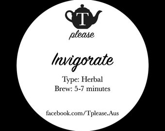 Invigorate loose leaf tea