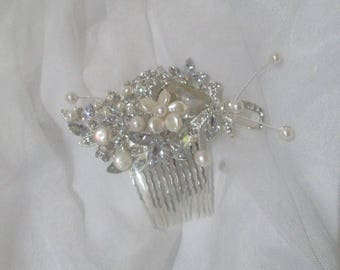 Diamond & Pearl Bouquet