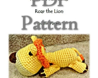 RunRunRun Series - Roar the Lion (PDF Pattern)