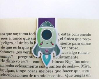 Rocket || Magnetic Bookmark