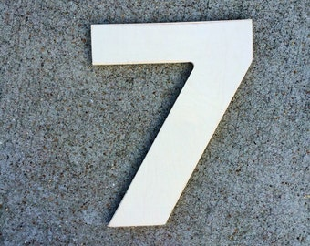 12 Inch Wooden Numbers, wood number 7, number 2, number 1, number 4, number 3, number 6, number 3, number 8, number 9, large wood numbers,