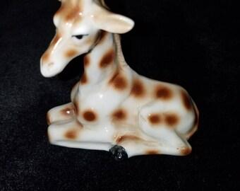 Vintage Ceramic Giraffe Figurine