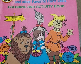 Wizard of Oz Color and Activity Book