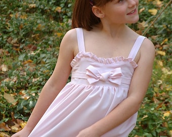 Girls party dress top New pdf sewing pattern tutorial ebook