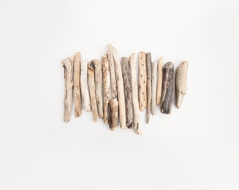 17X ENGLISH DRIFTWOOD PIECES, salvage drift wood, organic craft supplies, natural raw materials, driftwood branches, reclaimed timber, wood