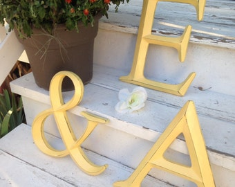 Wall Decor, Ampersand, Symbol, Wedding Decor, Large Letters, Home and Garden Decor
