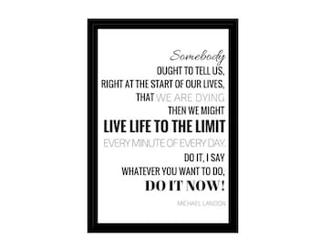 """Life Quote, Minimalist Photo, Travel, Digital Download, Inspirational Quotes, 4x6"""", A1, A2, A3, A4, Canvas File, Adventure Text, Text Poster"""