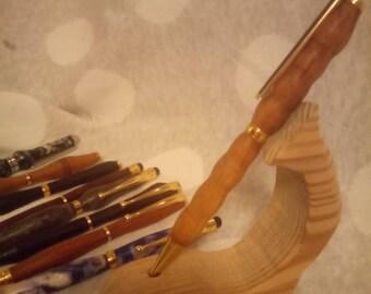 Teak pen//hand turned pen