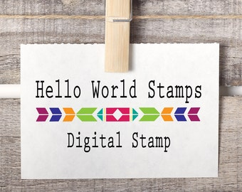 Return Address or Wedding Digital Stamp - NO STAMP PURCHASE required