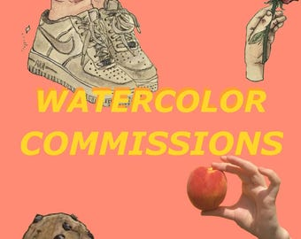 Watercolor Commissions