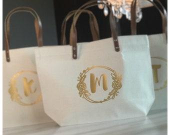 Bridesmaid Tote | Modern Bridesmaid Totes | Bridesmaid Tote Bags | Maid of Honor Tote | Personalized Bridesmaid Bags | Bridesmaid Gifts